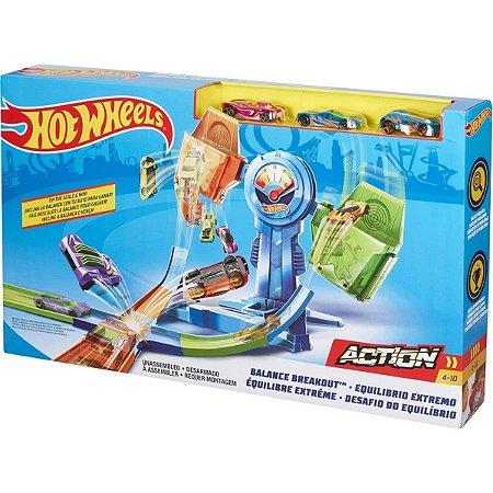 Pista Hot Wheels Cruzada Mortal Balanceada - Mattel