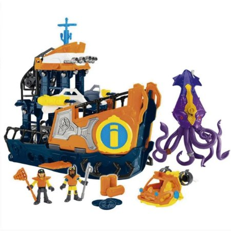 Navio Comando Do Mar Imaginext