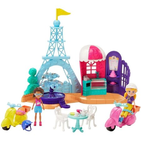 Playser Polly Pocket - Viagem á Paris - Mattel
