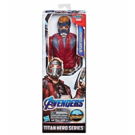 Boneco Star-Lord - Marvel Avengers Titan Hero Series - Hasbro