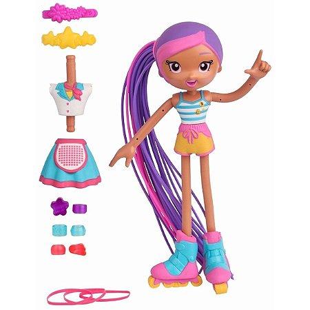 Boneca Betty Spaghetty com Acessórios Skate Lucy Candide