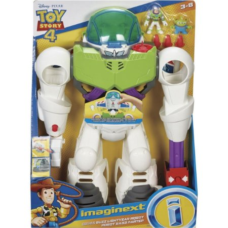 Robô Buzz Lightyear Toy Story 4 Imaginext - Mattel