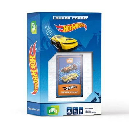 Jogo - Super Copag - Hot Wheels - Copag