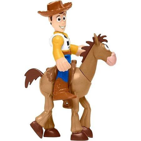 Boneco Toy Story Woody E Bala No Alvo - Imaginext