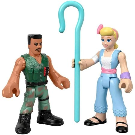 Carl Combat E Bo Peep - Imaginext