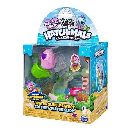 Hatchimals Colleggtibles - Playset Toboágua e Figura Surpresa - Sunny