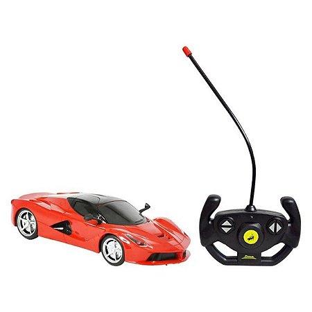 Carro Sport Com Controle Remoto Sem Fio - Dm Toys