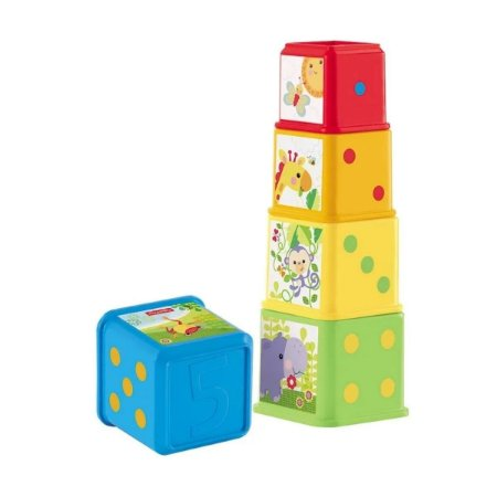 Empilhando Com Os Amigos Da Floresta - Fisher-Price