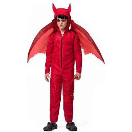 Fantasia Halloween Diabinho - Fantasia Super