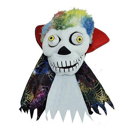 Fantoche Palhaço/bruxo Halloween Decoração