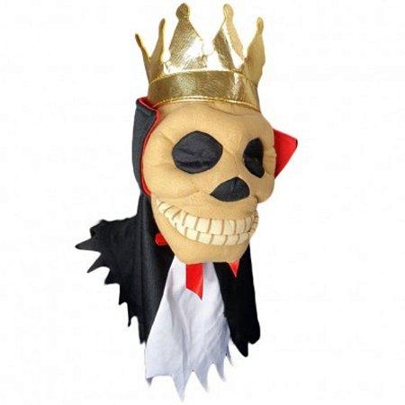 Fantoche Caveira marron Halloween Decoração