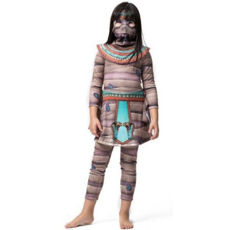 Fantasia Halloween Infantil Múmia Cleópatra