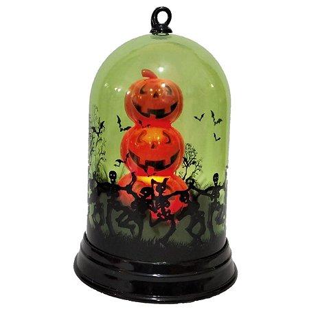 Decoração Halloween Cúpula Com Luz