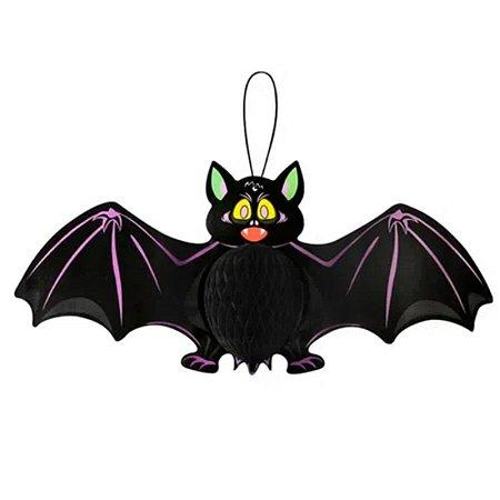 Decoração Enfeite Morcego Sanfonado
