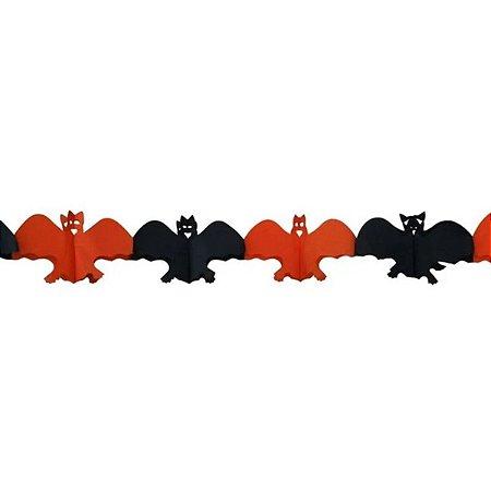 Guirlanda Morcego Halloween