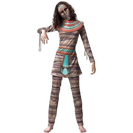 Fantasia Halloween Adulto Múmia Cleópatra