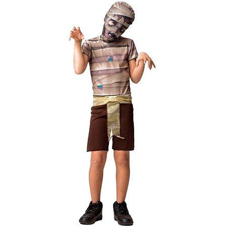Fantasia Halloween Infantil Múmia Faraó