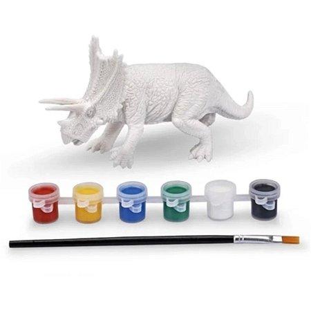 Coleção Dino Para Colorir - Tricerátopo - Xplast