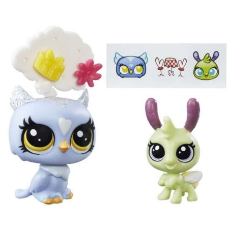 Littlest Pet Shop Eona Eventide & Elvin Lamplight - Hasbro