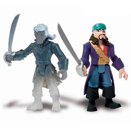 Figura Articulada Piratas Do Caribe - Will Turner e Ghost Crewman - Sunny