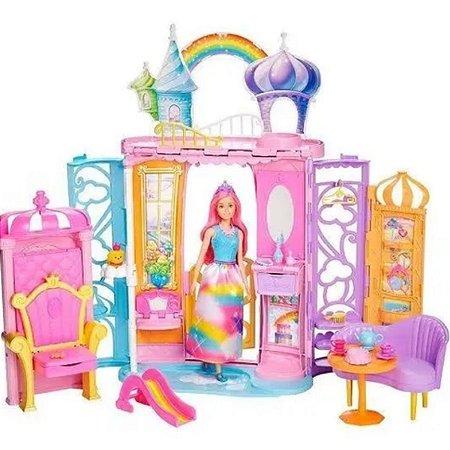 Barbie Castelo Arco-íris