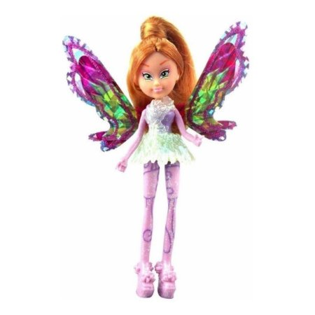 Boneca Winx Club Flora Tynix Mini Magic