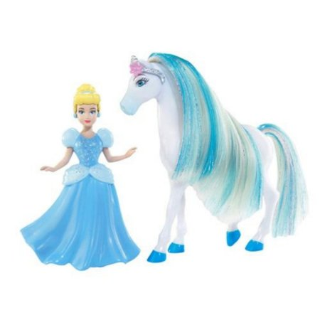 Boneca Mini Princesa Disney - Cinderela com Cavalo - Mattel