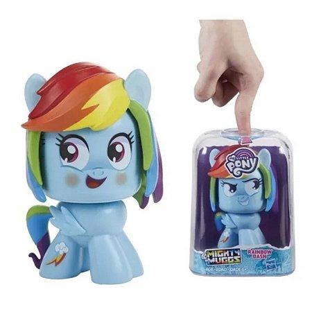 Boneco Mlp Mighty Muggs Rainbow Dash