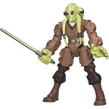 Boneco Hero Star Wars Kit Fisto - Hasbro