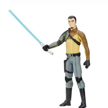 Boneco Kanan Jarrus Star Wars 15 Centímetros