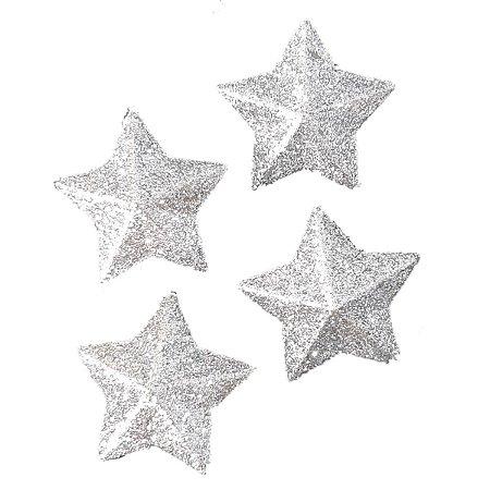 Enfeite De Natal Com 4 Estrelas