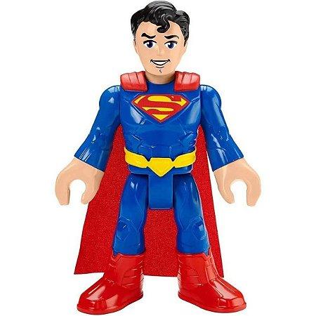 Boneco Superman Imaginext DC Super Friends XL - Mattel