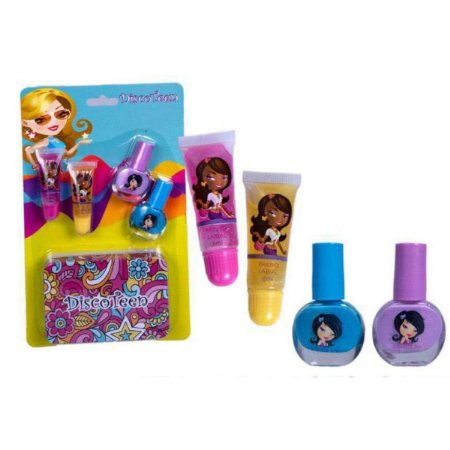 Kit Gloss e Esmalte Infantil Disco Teen