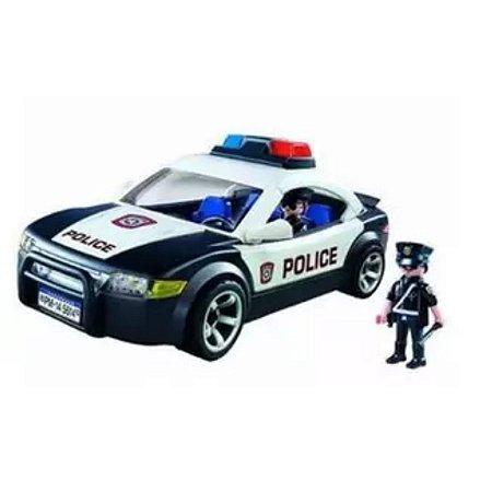Carro De Polícia - City Action 30 Peças - Playmobil