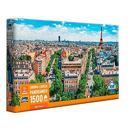 Puzzle Quebra Cabeça Belle Paris 1500 Peças Panorâmico