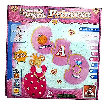 Conhecendo as Vogais - Princesa - Brincadeira de Criança