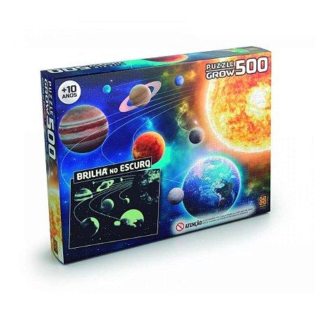 Quebra-Cabeça Sistema Solar 500 peças - Grow