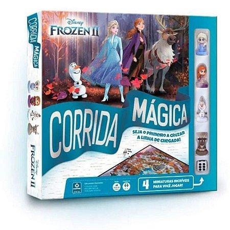 Jogo de Tabuleiro - Corrida Magica Frozen 2 - Copag
