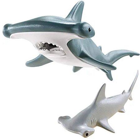 Playmobil Animais Marinhos Tubarão Martelo E Filhote 9065