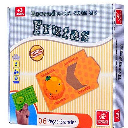 Aprendendo com as Frutas - Brincadeira De Criança