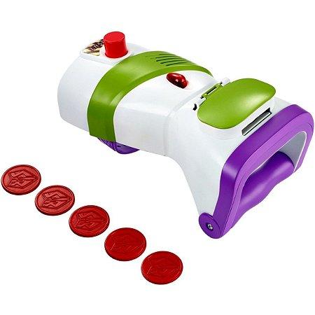 Buzz Lançador De Discos - Toy Story 4 - Mattel