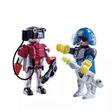 Playmobil Policial e Ladrão - Sunny