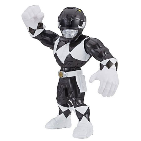 Boneco Preto Power Rangers Mega Mighties - Hasbro