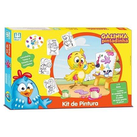 Kit de Pintura - Galinha Pintadinha - Nig