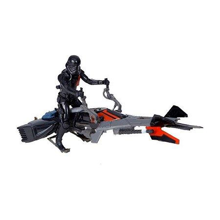 Star Wars Veiculo Moto Elite Speeder Bike - Hasbro