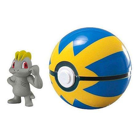 Pokemon Machop + Bola Rapida 7cm - Sunny