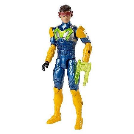 Boneco Max Steel Turbo Equipamento - Mattel