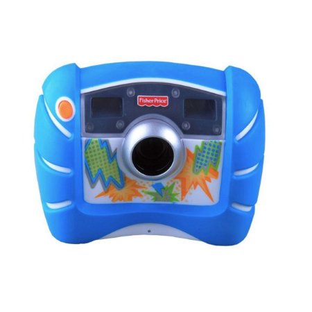 Maquina Fotográfica Digital Mattel Kid Tough - Azul
