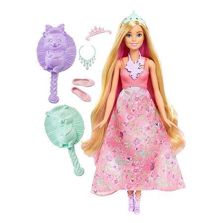 Barbie - Princesa Cabelos Coloridos