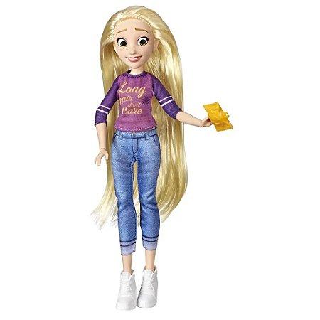 Boneca - Disney - Comfy Squad - Princesa Rapunzel - Hasbro